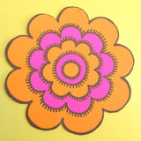 Vintage 1970s Stickers - Rickie Tickie / Jan Pienkowski - Individual Flower Design - Various Colours