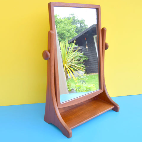 Vintage 1960s G Plan Rare Table Top Mirror - Teak - Hight Quality