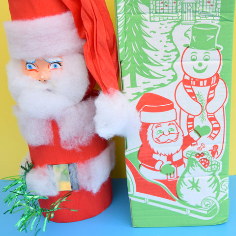 Vintage 1960s Giant Tom Smith Cracker - Snow Novelty - Christmas