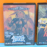 Vintage 1990s Mega Drive Games - Multiplayer