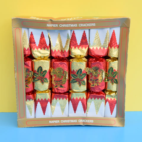 Vintage 1980s Box Of Crackers - Napier - Christmas