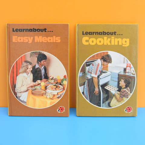 Vintage Ladybird Books - Learnabout... Series - Easy Meals & Cooking