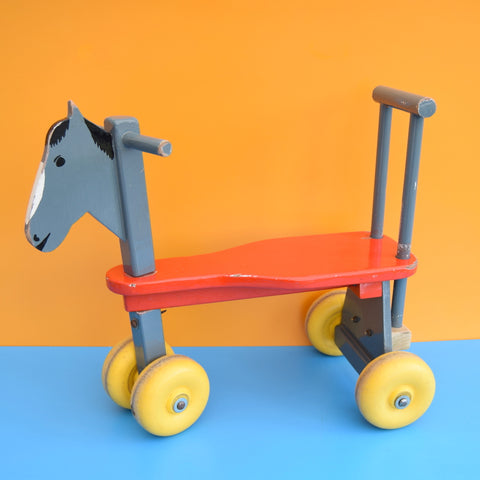 Vintage 1970s Wooden Trike / Bike - Brian The Horse