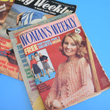 Vintage 1970s / 80s Woman's Weekly / Realm Magazines