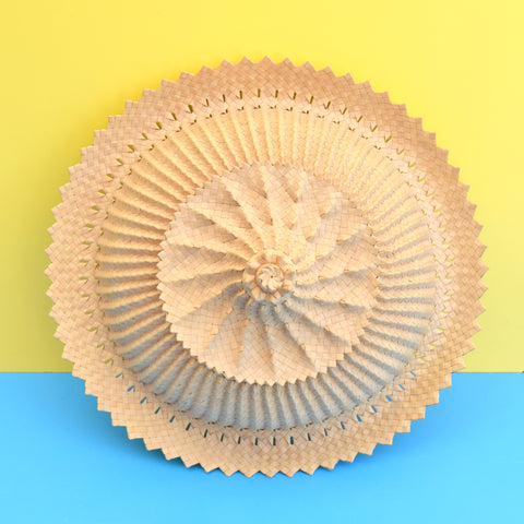 Vintage Natural Straw Balinese Food Cover - Amazing Design