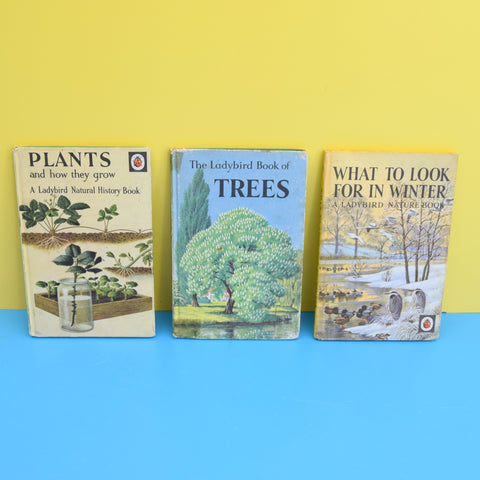 Vintage Ladybird Books - Plants / Trees / Winter