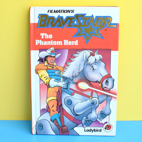 Vintage 1980s Ladybird Book - Brave Starr - The Phantom Herd