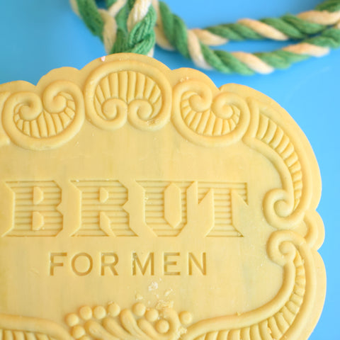Vintage 1970s Brut Soap On A Rope - Boxed