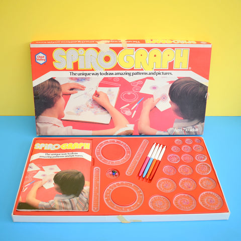 Vintage 1970s Game - Chad Valley - Spirograph