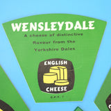 Vintage 1970s Plastic Cheese Labels - Quirky Decoration