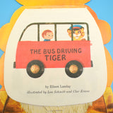Vintage 1960s Stand Up Story Book / Card - The Bus Driving Tiger