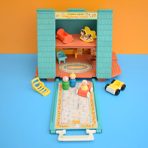Vintage 1970s Fisher Price A Frame House - Plus Bits .