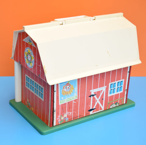 Vintage 1960s Fisher Price - Play Family Farm - Great Graphics
