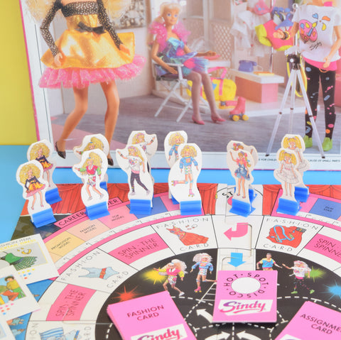 Vintage 1990s Sindy Doll Fashion Board Game