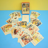 Vintage 1950s Fairy-Tale Playing Card Game - Fantastic Images