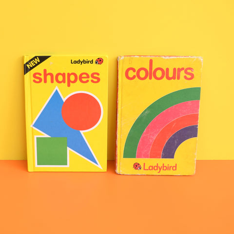 Vintage Ladybird Books - Shapes & Colours