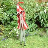 Vintage 1970s Gadabout Chair / Walking Stick Maclaren - Red or Blue Striped