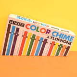 Vintage 1970s Xylophone - Boxed - Rainbow Colours