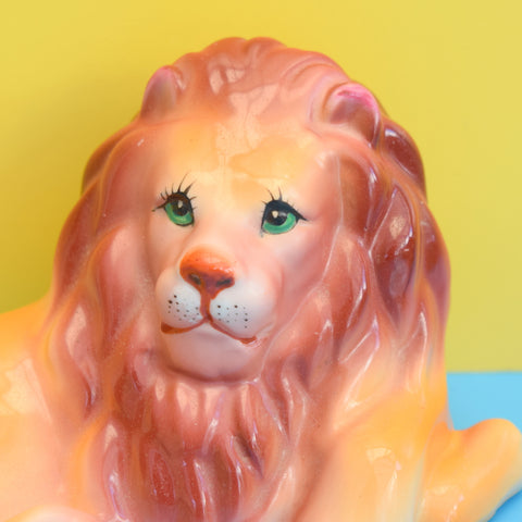 Vintage 1950s Kitsch Ceramic Pretty Lion (Lovely Eyelashes) - Chinese
