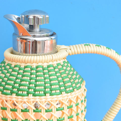 Vintage June-Termos Thermos Jug - Made in Sweden - Green