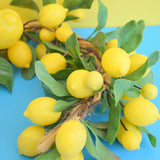 Vintage 1960s Plastic Fruit String - Lemons - Kitsch
