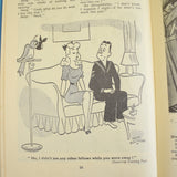 Vintage 1950s Laughs With The Lovelies Book - Lovely Illustrations