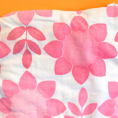 Vintage 1960s Flower Power Tea Cosy - Pink