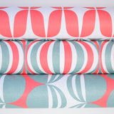 Retro Wrapping Paper from the Netherlands by Eva & Anna, mixed Red, Grey