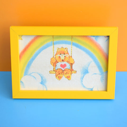 Vintage 1980s Rare Kids Wallpaper Picture - Care Bear