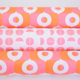 Retro Wrapping Paper from the Netherlands by Eva & Anna, Blue, Red, Green, Yellow