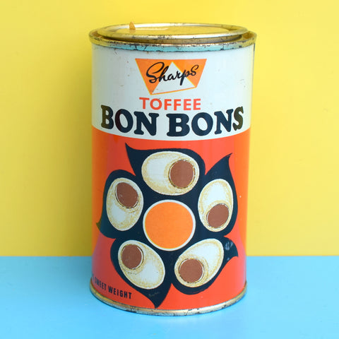 Vintage 1970s Toffee Bon Bon Tin - Sharps