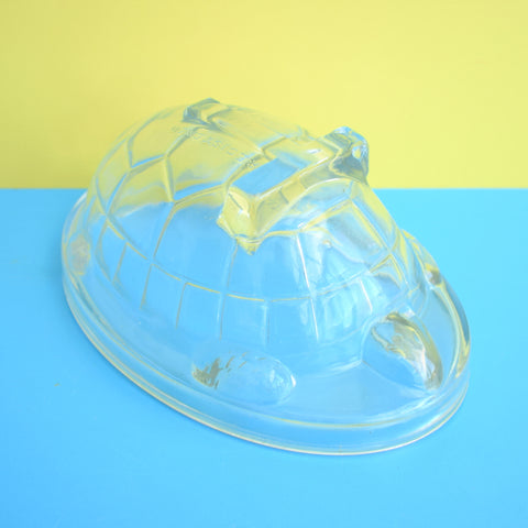 Vintage 1930s Glass Jelly Mould - Tortoise
