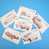 Vintage 1970s Dealer Choice - Used Car Sales Game - By Parker - Classic Cars - Mini / Beetle Etc