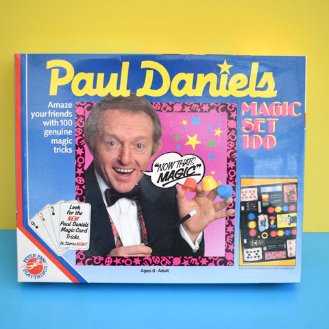 Vintage 1980s Paul Daniels Magic Set 100 - Peter Pan Playthings - Boxed
