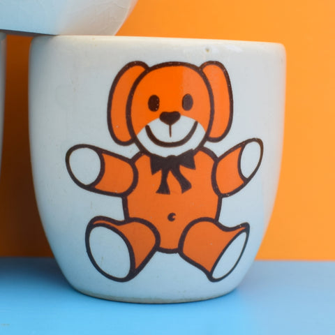 Vintage 1970s Ceramic Egg Cups - Various Designs