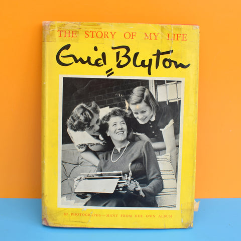 Vintage 1950s Enid Blyton The Story Of My Life Book
