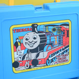 Vintage 1980s Plastic Bluebird Lunchbox & Flask - Thomas The Tank Engine - Blue