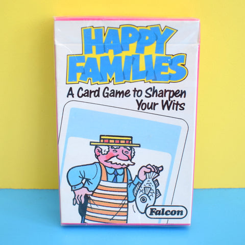 Vintage 1980s Happy Families Card Game - Fantastic Images - Ideal For Framing