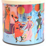 Vintage 1970s Carnival Metal Tin - James Pascall, Multi Coloured1