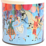 Vintage 1970s Carnival Metal Tin - James Pascall, Multi Coloured2