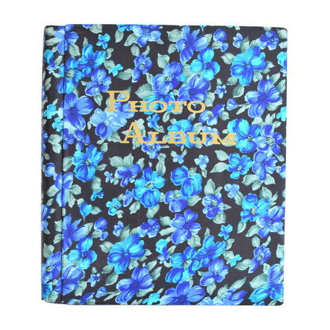 Blue flower photo album 1960s