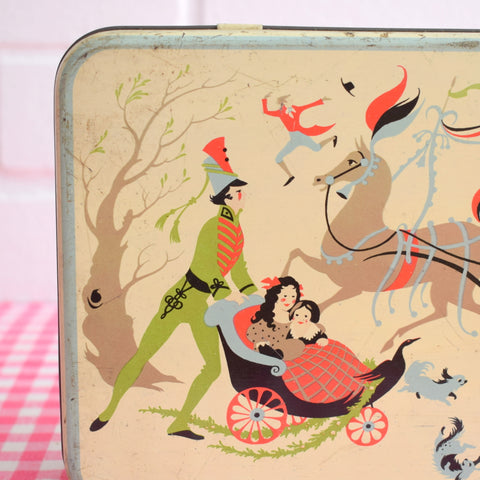 Vintage 1960s Tin- Christmas - Romary & Co