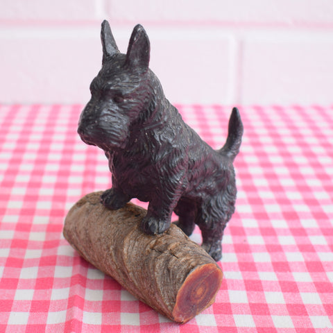 Vintage 1940s Metal Scotty Dog