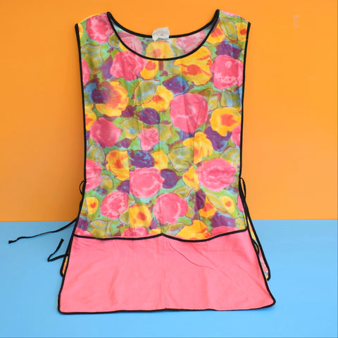Vintage 1960s Tabard / Apron - Flower Power