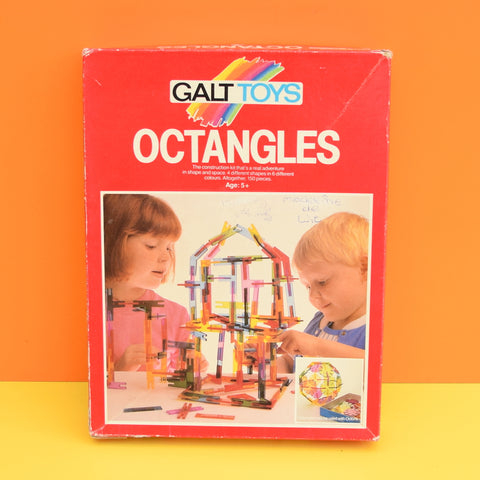 Vintage 1970s Ocatangles - by Galt (Boxed) Like Octons