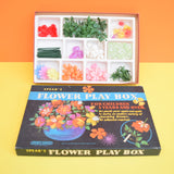 Vintage 1960s Spears - Flower Play Box - Flower Power