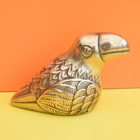 Vintage Brass Metal Toucan - Mexican / Scandi Style