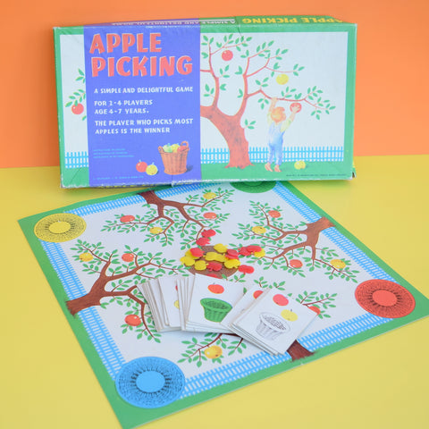 Vintage 1970s Game - Apple Picking - Spears Game - Complete