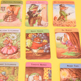 Vintage 1950s Woodland Snap Card Game - Fantastic Images - Racey Helps - Ideal For Framing