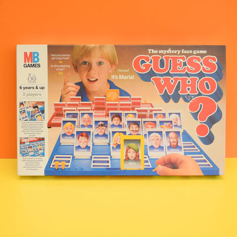 Vintage 1970s Game - Guess Who - MB Game - Complete